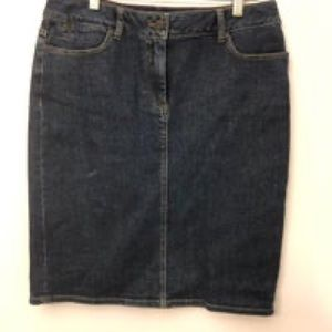 Denim Skirt Talbots size 8